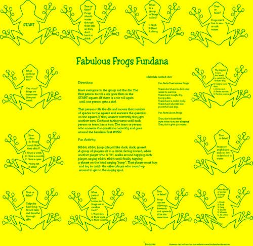 Fabulous Frogs Fundana