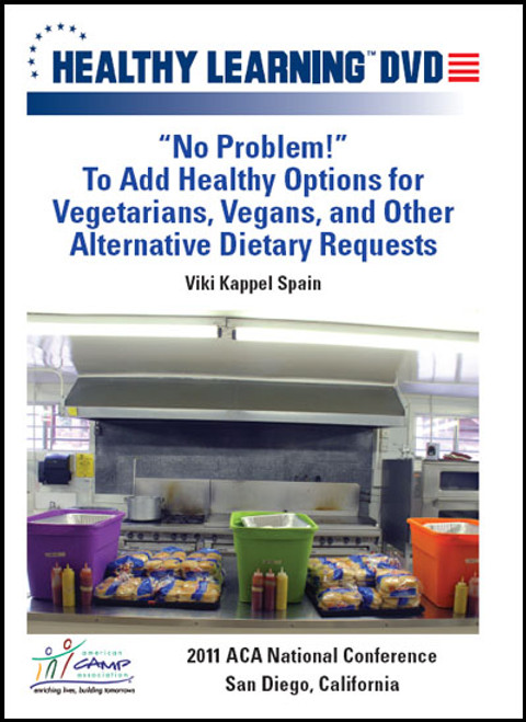 """No Problem!"" To Add Healthy Options for Vegetarians, Vegans, and Other Alternative Dietary Requests"