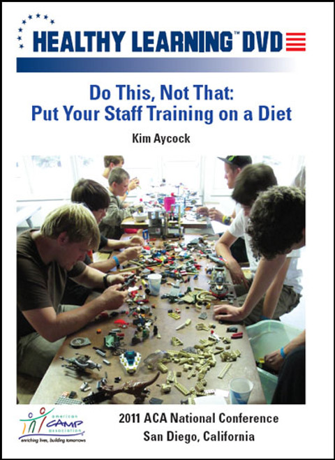Do This, Not That: Put Your Staff Training on a Diet