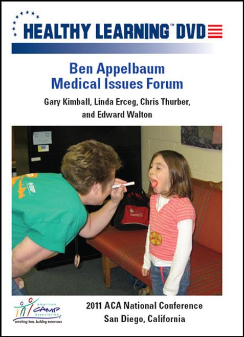 Ben Appelbaum Medical Issues Forum