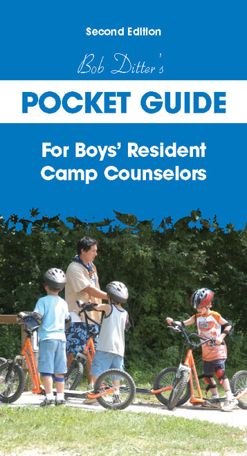 Bob Ditter's Pocket Guide For Boys' Resident Camp Counselors (Second Edition) - E-Pub