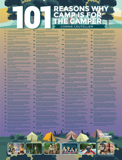 101 Reasons Why Camp Is for the Camper - Poster