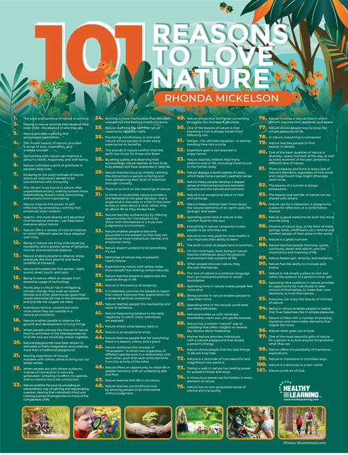 101 Reasons to Love Nature