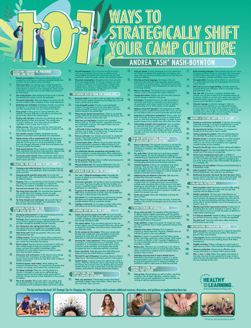 101 Ways to Strategically Shift Your Camp Culture