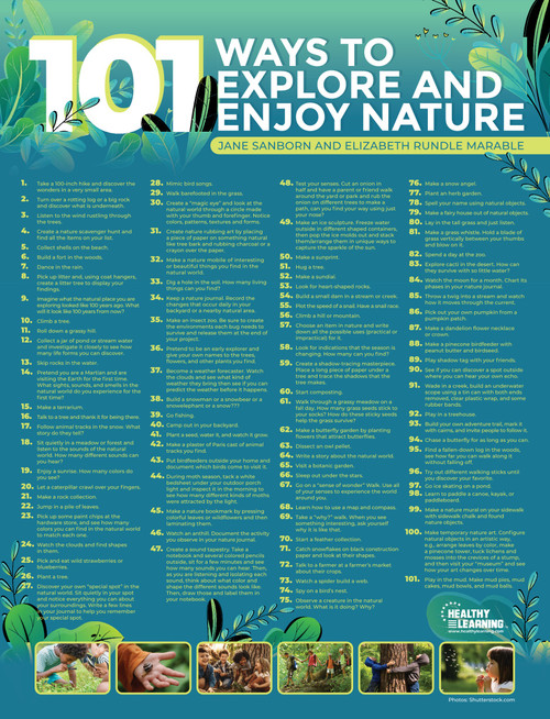 101 Ways to Explore and Enjoy Nature