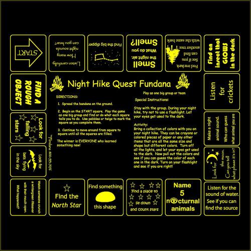 Night Hike Quest Fundana