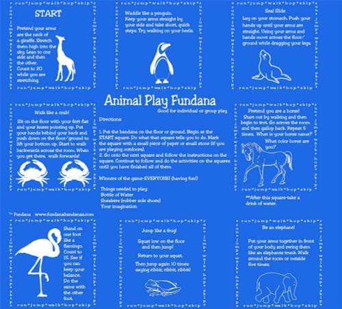 Animal Play Scarf Fundana
