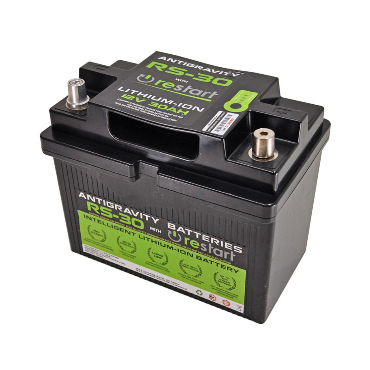 ***BLEMISHED PART*** (Previously Installed) Antigravity Batteries© RS-30  Lithium Ion Performance Racing Battery - 1200cca and Re-Start Technology -