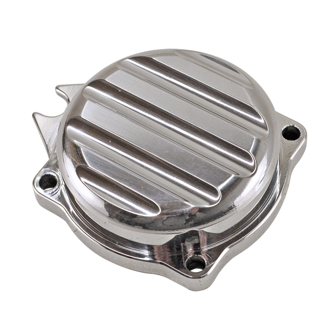 Ricky Bongos USA® CV Carb Top with Integrated Choke Mount Harley Models -  Polished with Ribbed Top - Made In USA