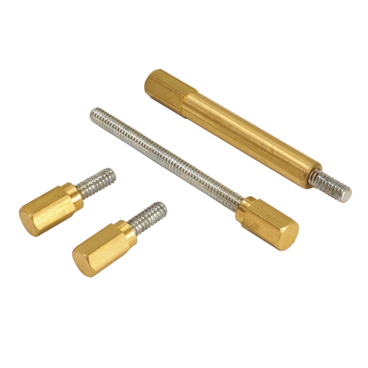 35-0025 Brass Extended Long Float Bowl Screw Kit Set S/&S Super E /& G Harley