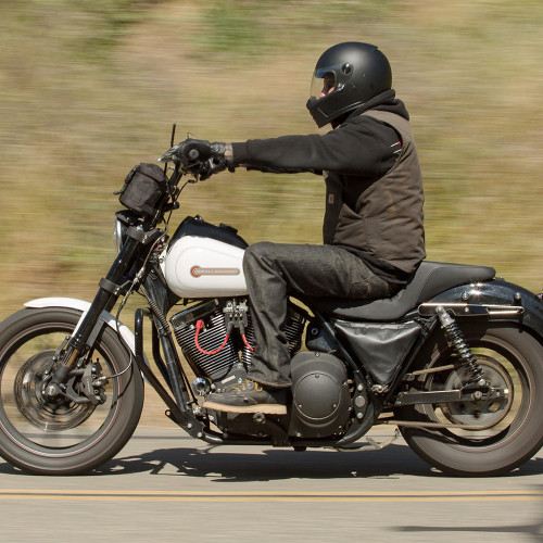 Full Face Cruiser Helmets >> Biltwell Lane Splitter Full Face Helmet Flat Black Dot Approved