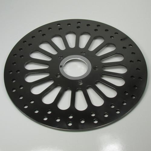 """Chrome FRONT LEFT Brake Caliper 11.5/"""" Disc Rotor KIT 1984-1999 Harley XL FXD FXR"""
