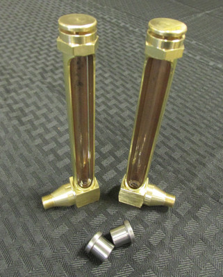 """B1740-1 Without Reflector 3 1//4/"""" NPT Gasketed Window Sight 5//8 Hex Qty"""