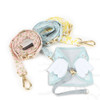 Blooming Angel Set (Harness & Leash) Blue
