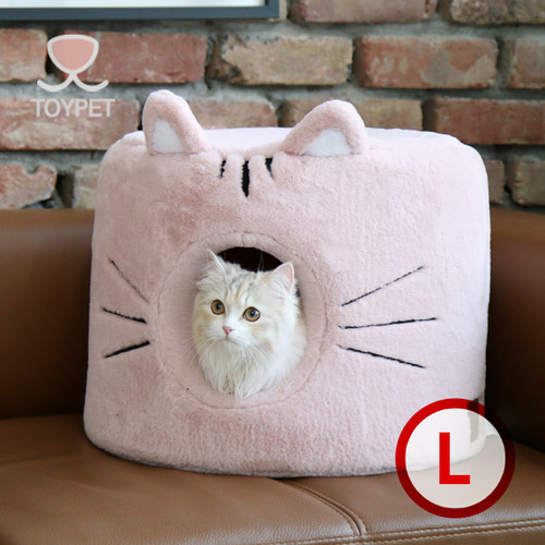 Cat house (pink)