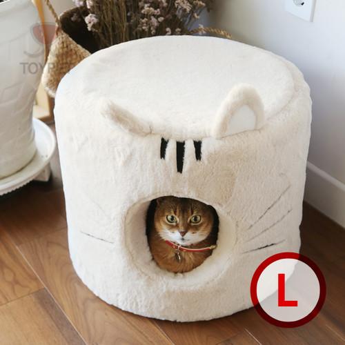 Cat house (beige)