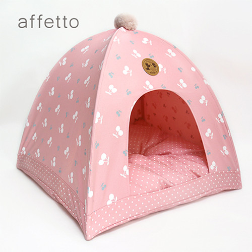 Pop tent for dog (Pink)
