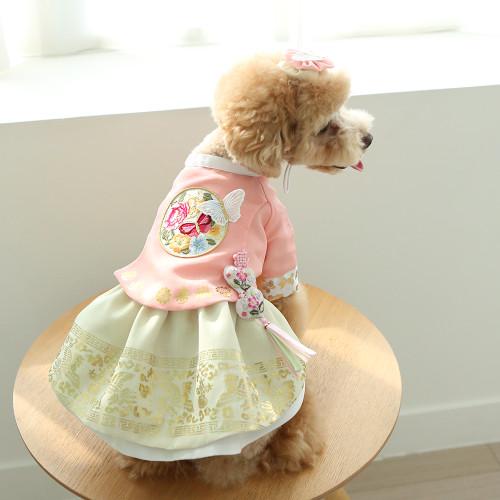 Sena Princess Hanbok Set (lime)