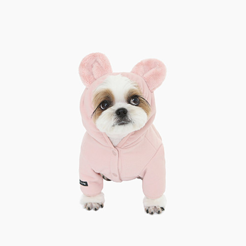 Muffy Fleece All-in-one (pink)