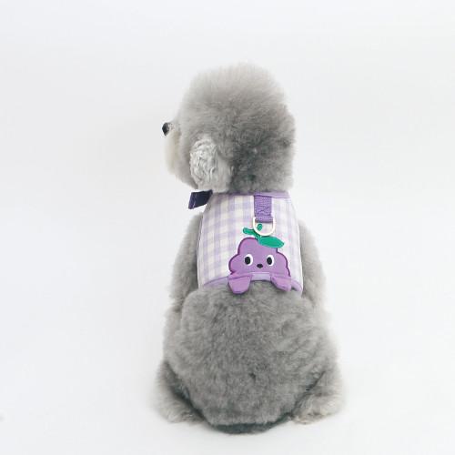 Korean pet supplies - peekaboo harness and leash