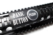 Custom Gun Rails Large LEA Panic Button Rail Cover LEA070PAN