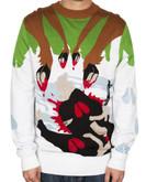 LA Police Gear Terrorist Roadkill Christmas Sweater CS-TRR