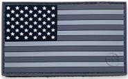 LA Police Gear PVC US Flag Patch PATCH-PVC-FLAG