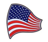 LA Police Gear USA Flag PVC Patch PATCH-US-FLAG