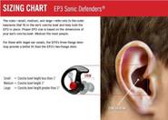 SureFire EP3 Sonic Defenders Ear Plugs EP3