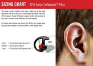SureFire EarPro EP4 Sonic Defender Plus Earplugs EP4