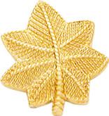 Smith and Warren Small Major Rank Oak Leaf Insignia W26