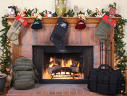 LA Police Gear MOLLE Elite Tactical Christmas Stocking TCS3