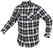 LA Police Gear Long Sleeve Flannel Shirt FLS1001