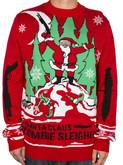 LA Police Gear Zombie Christmas Sweater CS-ZC