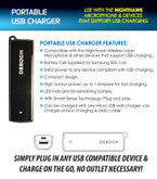 Earphone Connection Portable USB Charger BW-NT-CHARGER 812226021215