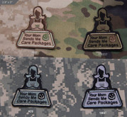Mil-Spec Monkey Your Mom Sends Me Care Packages Patch YOURMOM