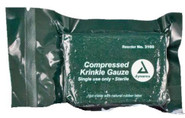 Elite First Aid Compressed Gauze 4.5in x 4yds 404 616784316017