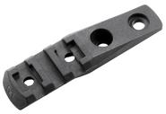 Magpul M-LOK Cantilever Rail/Light Mount, Polymer MAG587-BLK 873750001784