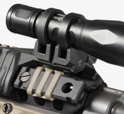 Magpul Light Mount V-Block and Rings MAG614-BLK 873750002293