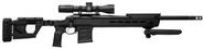 Magpul Pro 700, Folding Stock - Remington 700 Short Action MAG802