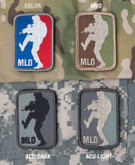 Mil-Spec Monkey Major League Doorkicker Patch MLD