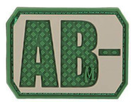 Maxpedition Blood Type Patches BT