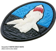 Maxpedition GRTWS Great White Shark Patch