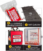 North American Rescue Public Access Bleeding Control Clear Starion-8-Pack-Vacuum Sealed PABCCS
