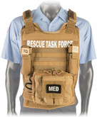 North American Rescue Rescue Task Force Vest Kit with Side Armor RTFVK