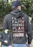 Nine Line 5 Things Light Weight Tailgater Hoodie 5THINGS-LWTGS