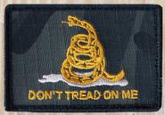 Nine Line Dont Tread on Me Dark Multicam Patch CLOTH-DTOM-DMC 190741429755