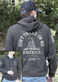 Nine Line Dont Tread on Me Light Weight Tailgater Hoodie DTOM-LWTGS