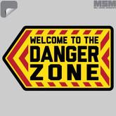 Mil-Spec Monkey Danger Zone Decal DANGERZONE