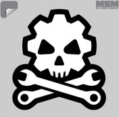 Mil-Spec Monkey Death Mechanic Decal DEATHMECHANIC-SWAT